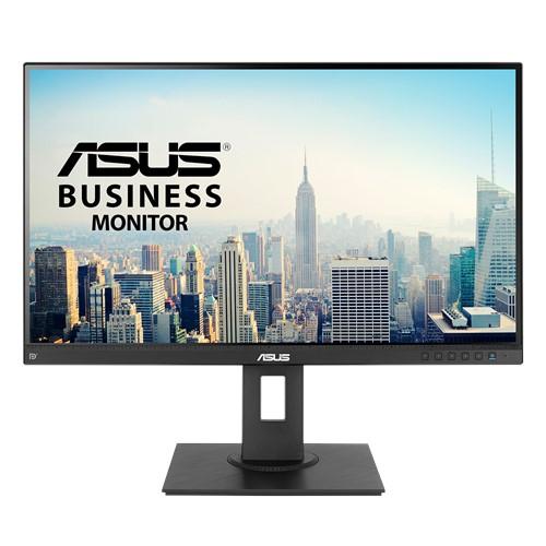 (S) ASUS BE27AQLB 27' Business Monitor – WQHD (2560x1440), IPS, HDMI, DisplayPort, Frameless, Mini-PC Mount Kit, Flicker free, Low Blue Light