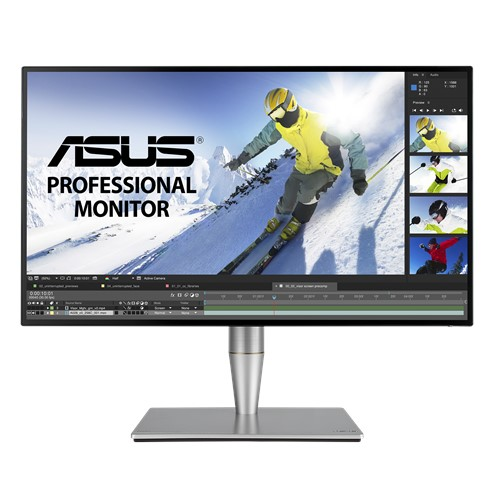 ASUS ProArt PA27AC 27' 2K 100% sRGB, REC.709 HDR IPS Eyecare Adaptive-Sync HAS SPK DP HDMI USB-C In  Out USB3.0