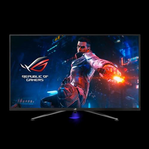ASUS PG43UQ 43' Gaming Monitor 1ms, 144Hz, 4K G-Sync DSC Technology Vesa Display HDR1000, 178° View, Flicker Free, Adaptive-Sync