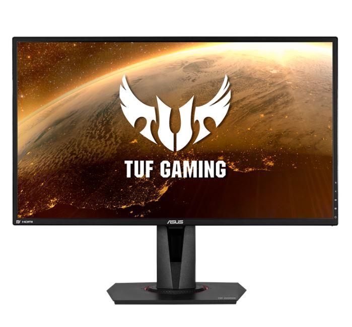 ASUS TUF Gaming VG27AQ HDR Gaming Monitor – 27' WQHD (2560x1440), IPS, 165Hz, 1ms MPRT, ELMB Sync, G-SYNC Compatible, Adaptive-Sync