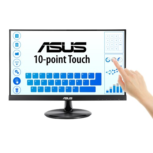 ASUS VT229H 21.5' Touch Monitor - FHD (1920x1080), 10-point Touch, IPS, 178° View, Frameless, 1.5W*2 Speakers