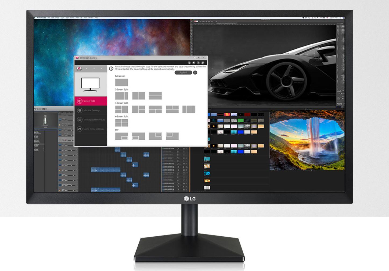 LG 22' 5ms 75Hz Full HD FreeSync Monitor - VGA/HDMI, Tilt, VESA 75 x 75 mm