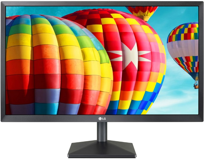 LG 23.8' IPS 5ms Full HD FreeSync Monitor - HDMI/VGA Tilt VESA75mm Black Stabilizer