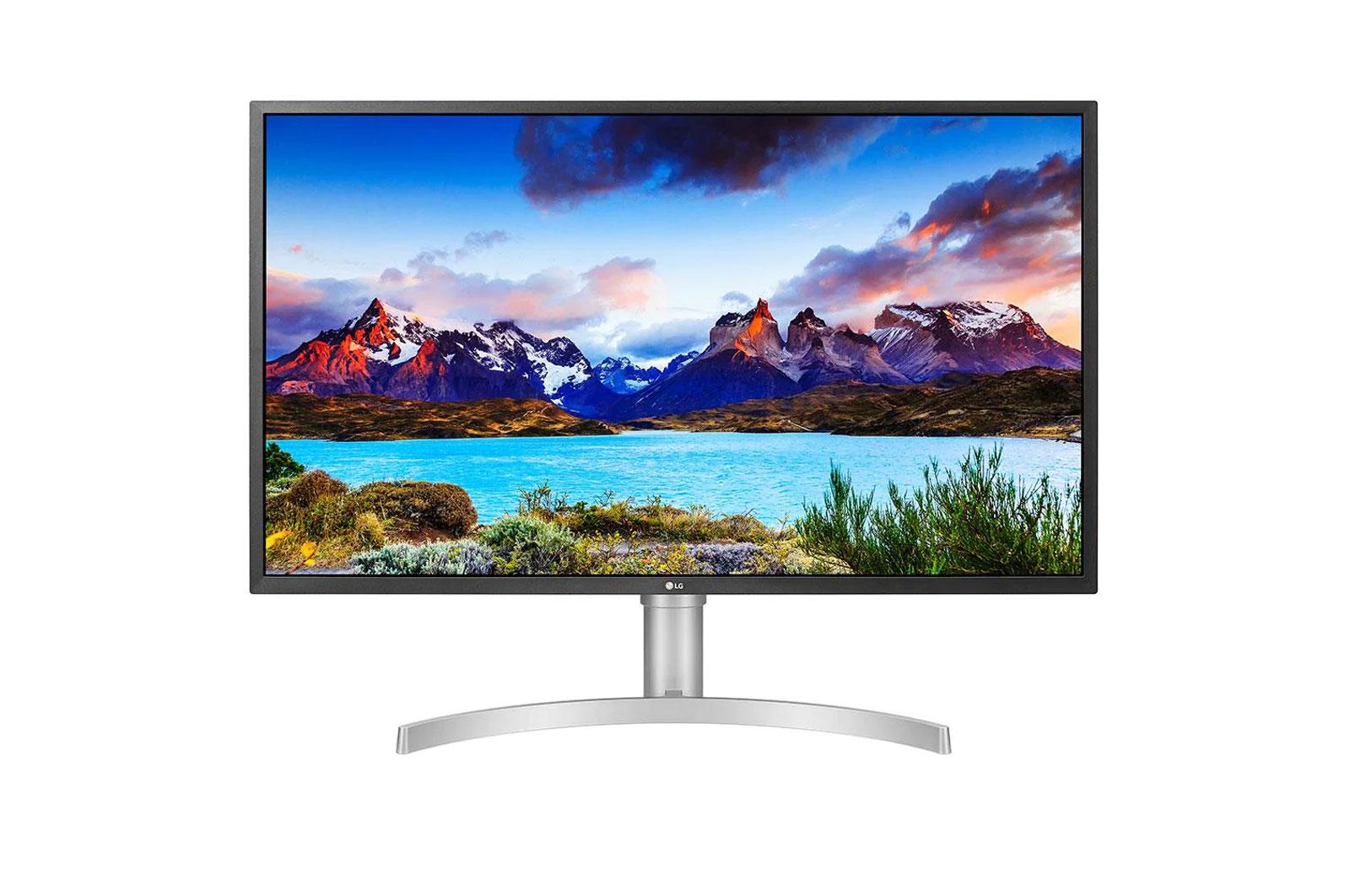 LG 32' 5Ms 60Hz Class 4K UHD LED Monitor with VESA Display HDR 600 (31.5'' Diagonal) VESA 100x100  USB C , 2xHDMI, DP
