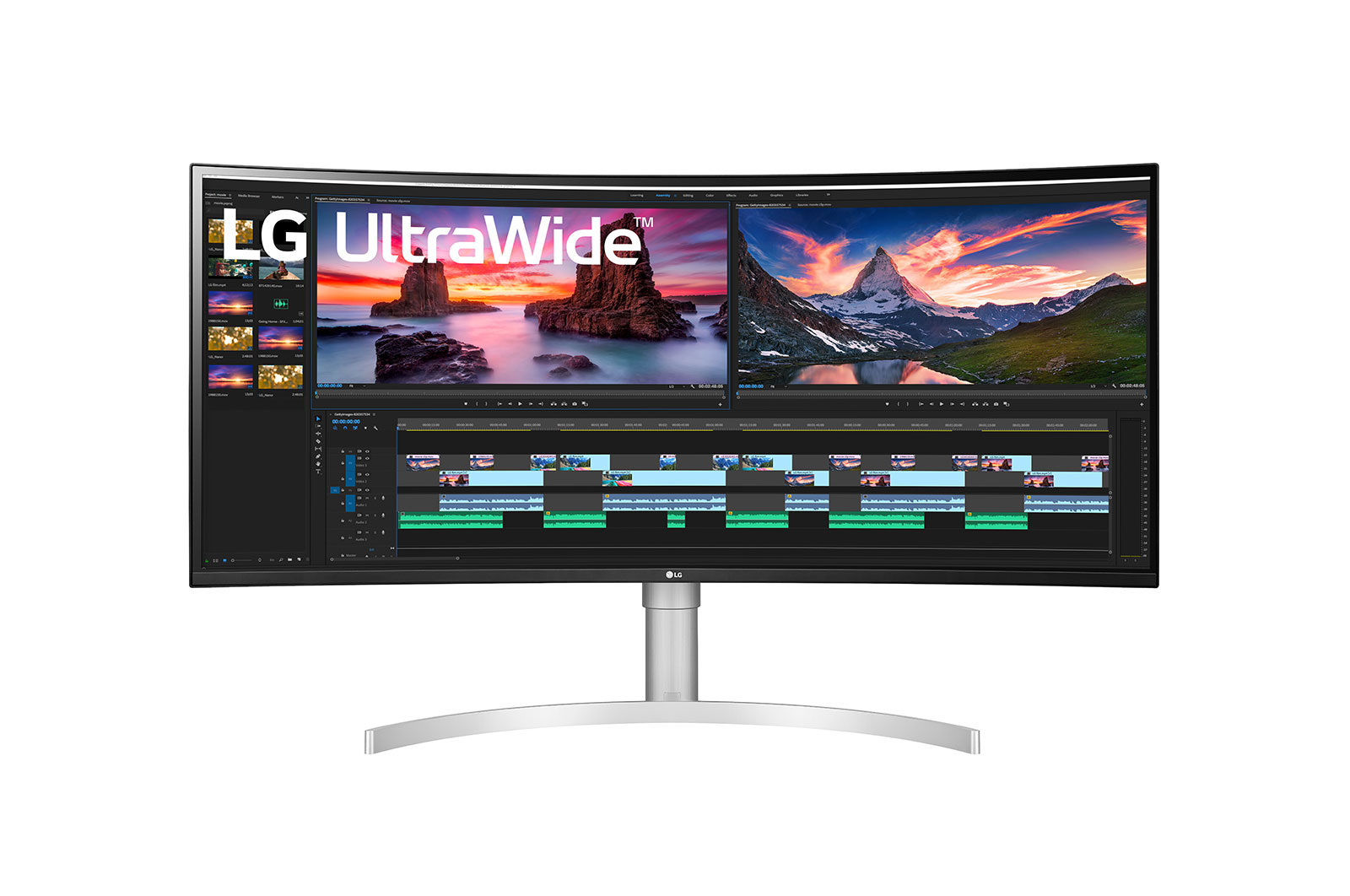 LG 38' 1ms 144Hz UltraWide QHD+ IPS Curved Monitor NVIDIA G-SYNC™ Compatibility