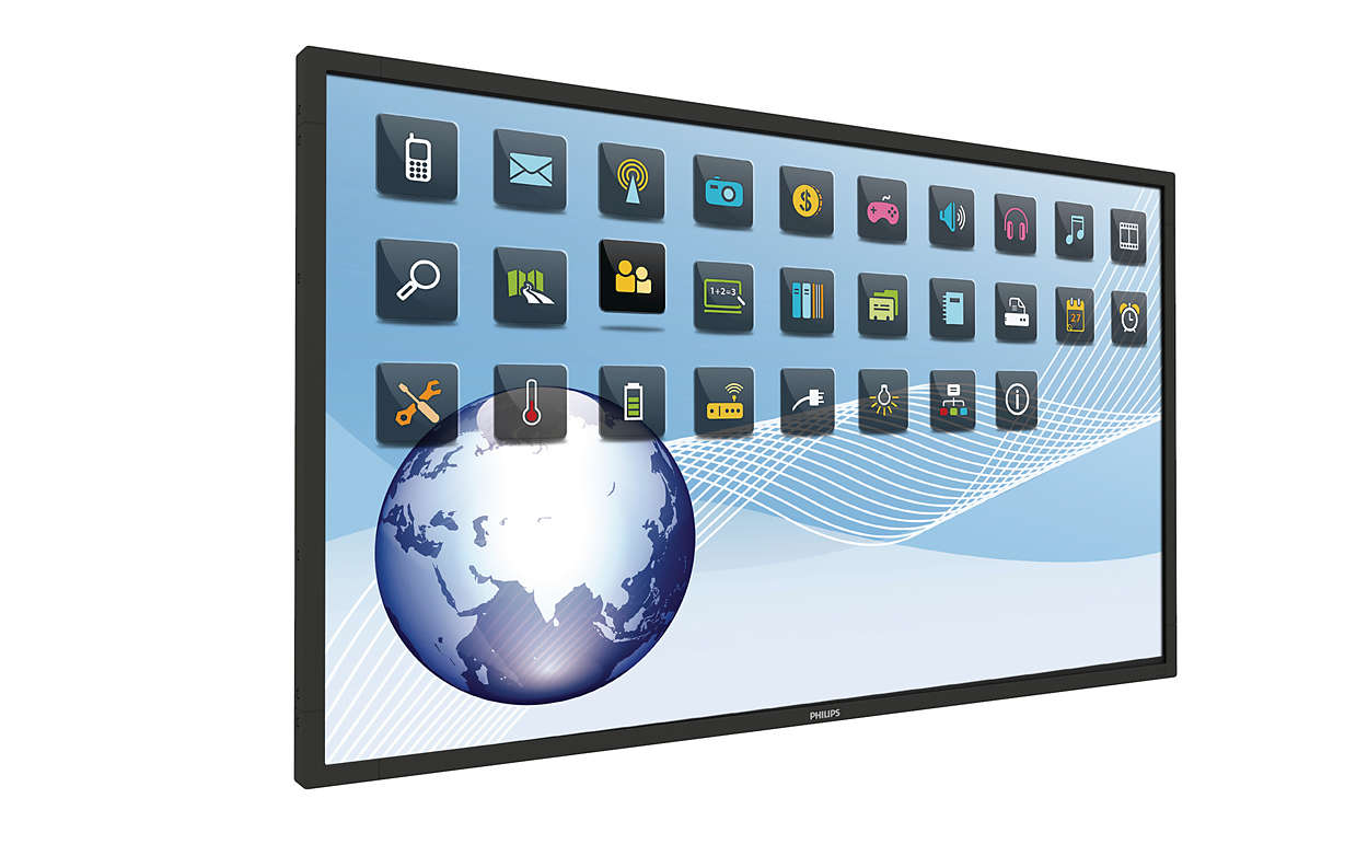 84' Philips LED/LCD UHD 10 Pts Touch Display 360 nit 24/7