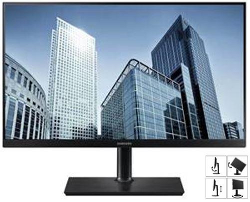 Samsung 27' PLS FreeSync 2K WQHD Monitor 2560x1440 4ms 60Hz 16:9 178° HAS Height Adjust Tilt Swivel Pivot DP HDMI USB-C Daisy Chain VESA PBP
