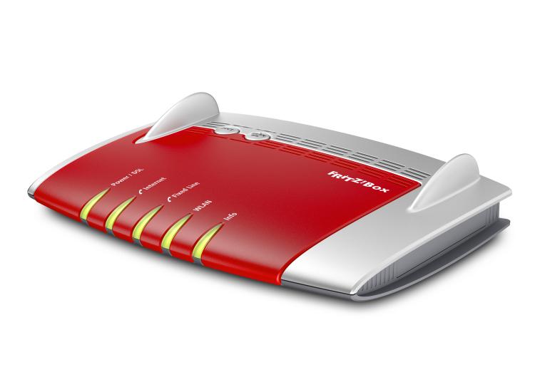 Fritz!Box 7490 1300Mbps DualBand Wireless AC ADSL2+/VDSL2 VOIP Modem Router VPN ISDN 4 Ports Gigabit LAN WAN DECT 2xUSB Amex M Firewall