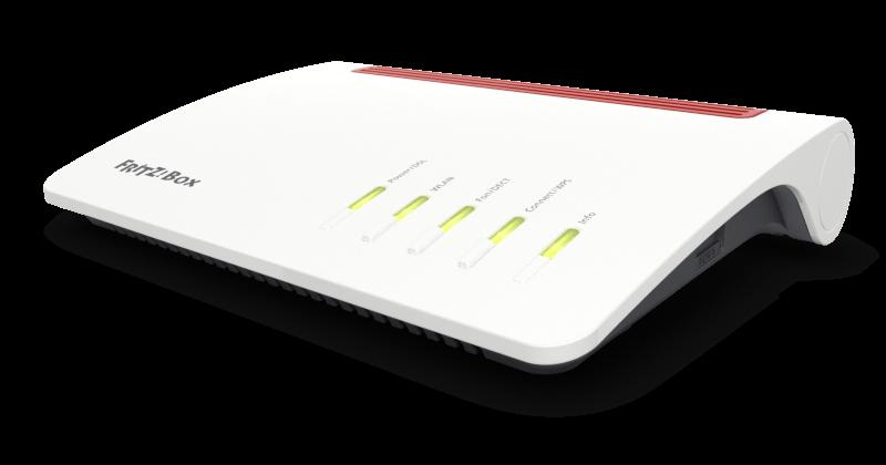 Fritz!Box 7590 Dual-Band 4x4 Wireless AC ADSL2+/VDSL2 Modem Router W/ ISDN, 5.0GHz 1300Mb/s  2.4Ghz 450Mb/s, 1x Gigabit WAN, 4x RJ45 Gigabit LAN,