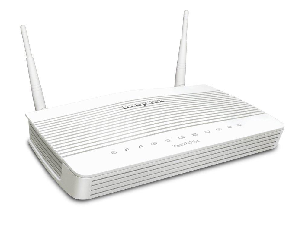 Draytek Vigor2762AC VDSL2/ADSL2+ VPN Firewall Router 4xGigabit LAN WAN Port 2xUSB for 3G/4G 2xSSL VPN Tunnels 5GHz WLAN 2xAntenna 2yr wty~MOD-DV2760AC