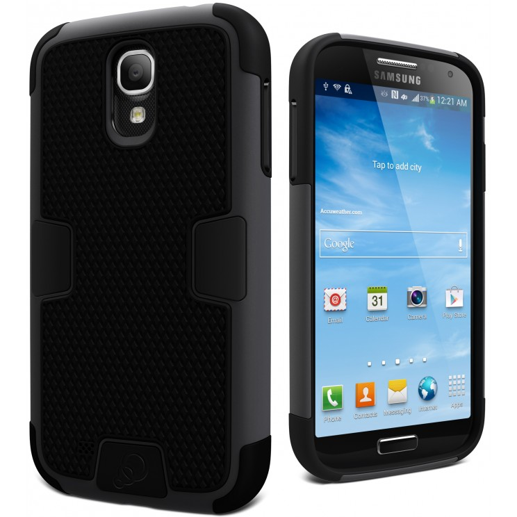 Cygnett Workmate Black Case Evolution Suit Galaxy S4