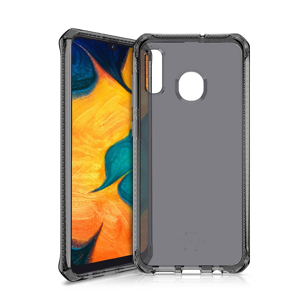 ITSKINS Spectrum 2M Drop Case Samsung A20  A30 Clear / Black