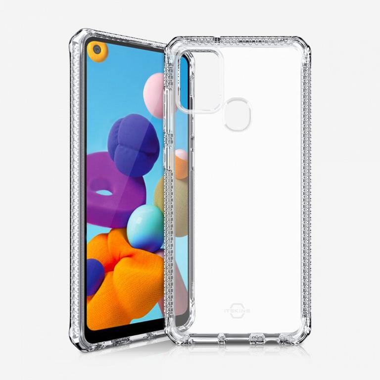 ITSKINS Spectrum 2M Drop Case - Samsung A21s Clear / Transparent