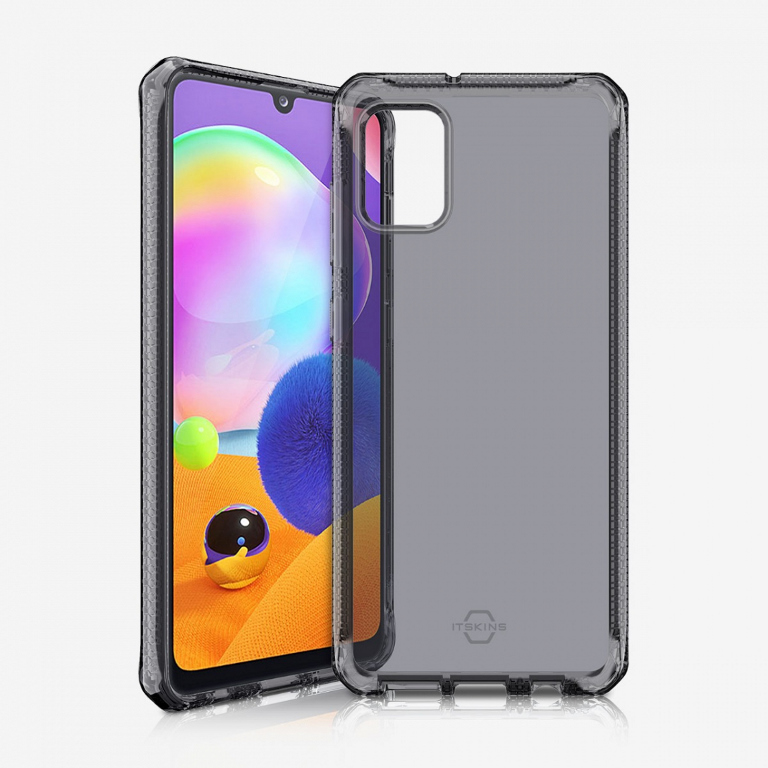 ITSKINS Spectrum 2M Drop Case - Samsung A31 Clear / Smoke
