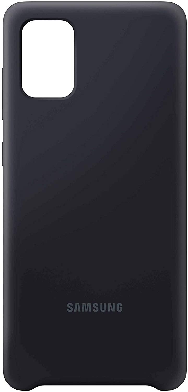 SAMSUNG A71 SILICONE COVER BLACK