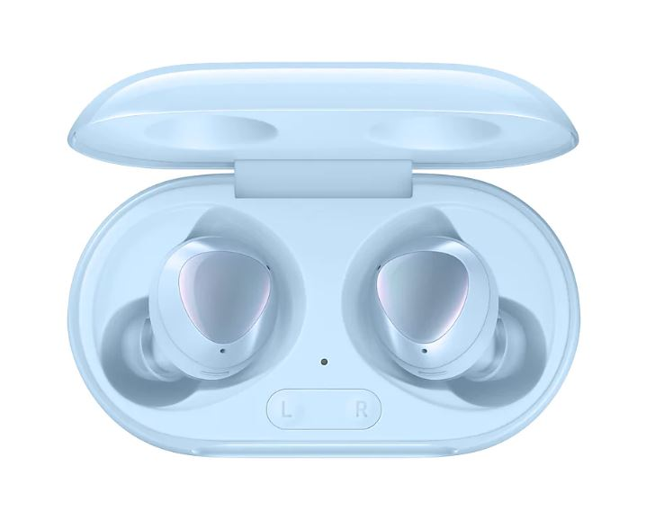 Samsung Galaxy Buds+ Blue - Bluetooth v5.0 (LE up to 2Mbps), Compatible Specification- Android 5.0 or later , 1.5GB/ iPhone 7, iOS 10, Water Resistant