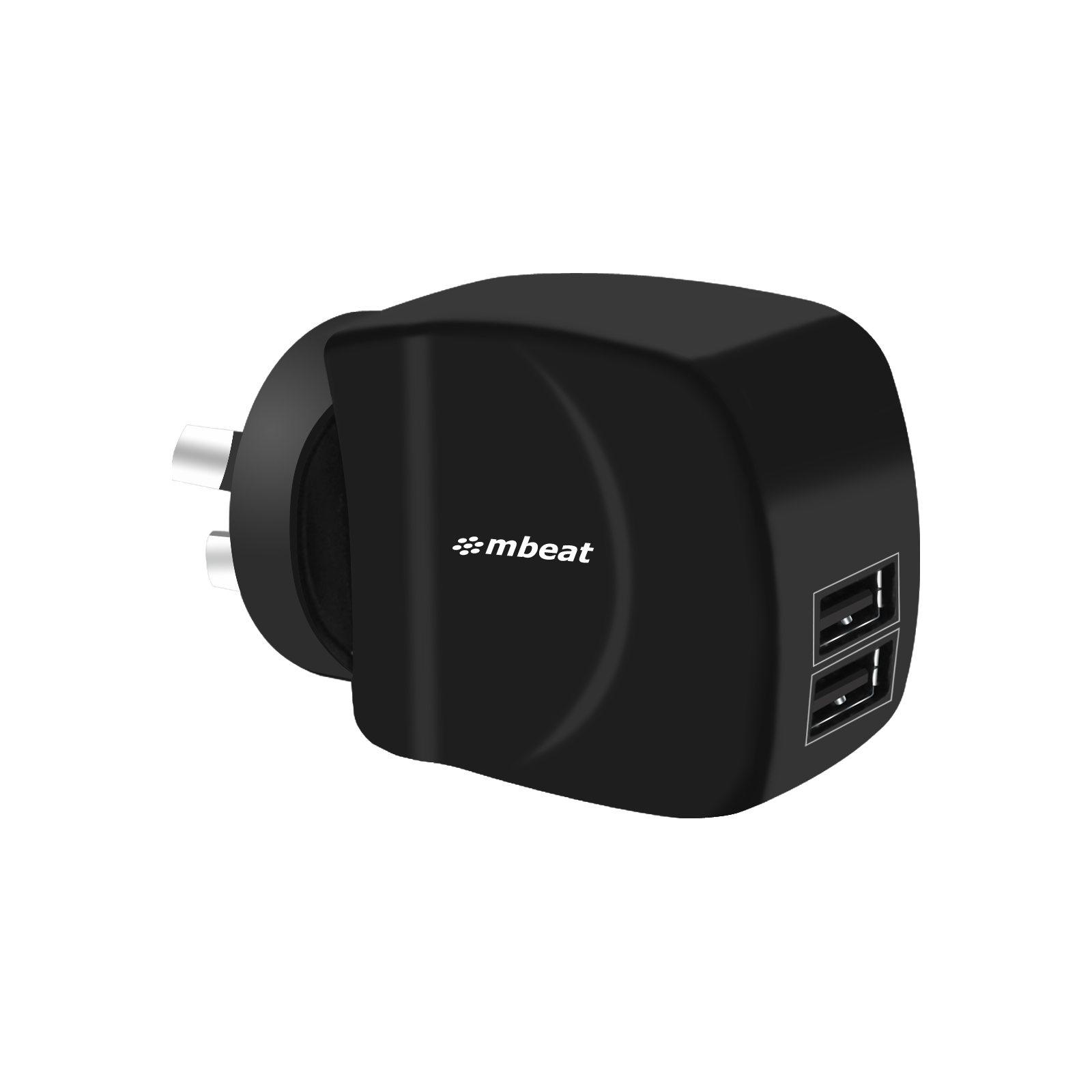 mbeat® Gorilla Power Duo 3.4A Dual USB Ports Smart Charger