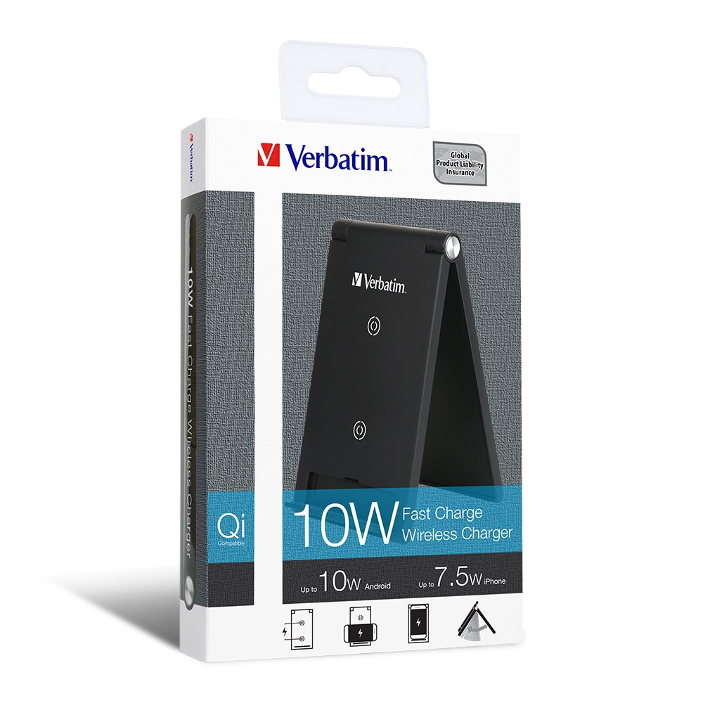 Verbatim Wireless Charging Stand 10W