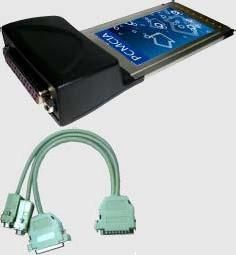 Condor Serial&Parrallel PCMCIA 1X Parallel 1X Serial (LS)