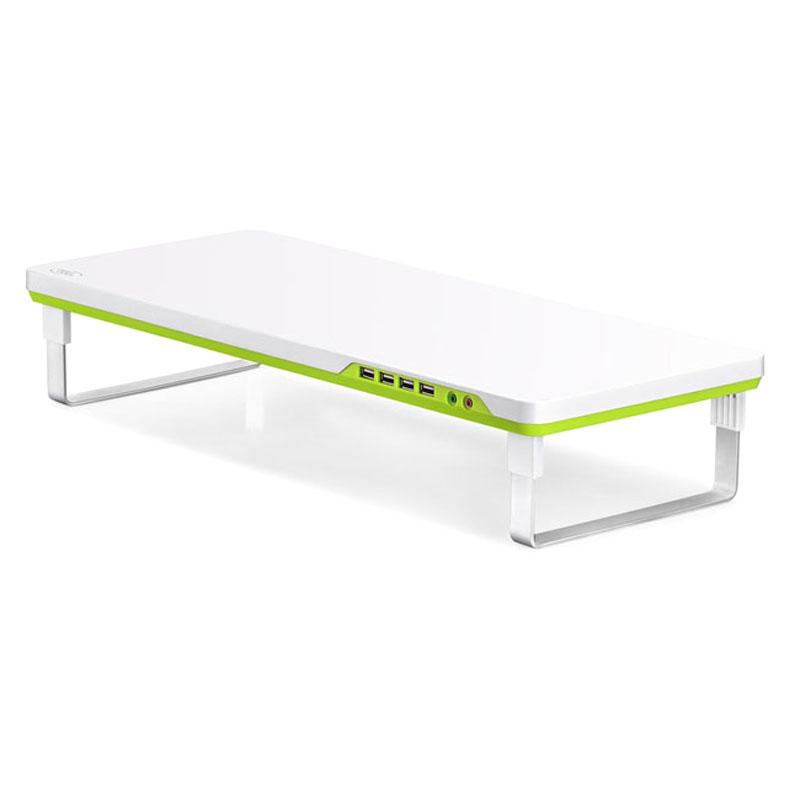 Deepcool M-Desk F1 Ergonomic Monitor Stand Up To 27'  10kg W/ Audio  4x USB