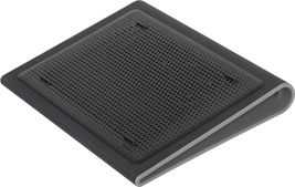 Targus Chill Mat™ Lap Fits Laptops upto 17' with Dual Fans - Black and Grey