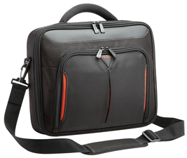 Targus 18.2' ClClassic+ Clamshell Laptop Case with File Compartment - Black