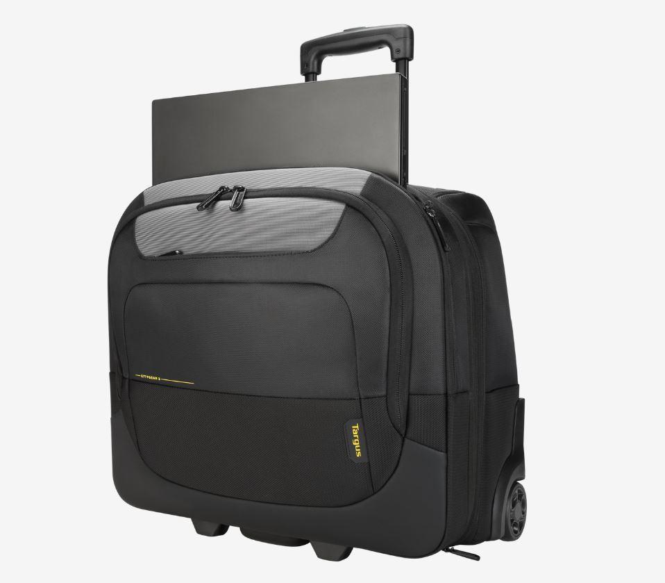 Targus 15-17.3' CityGear III Horizontal Roller Laptop Case for Travel - Black
