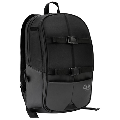 Targus 15.6' Grid Essentials High-Impact Protection Backpack - Black