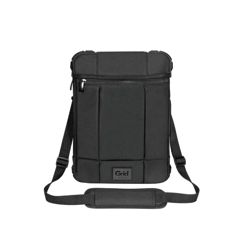Targus 12' Grid High Impact Vertical Slipcase with Extreme Urban Protection  Weather Resistant- Black