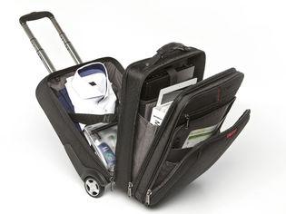 Verbatim 49851 Corporate Luggage Paris Backpack Roller Bag for 13' 14' 15' 16' Notebook Laptop