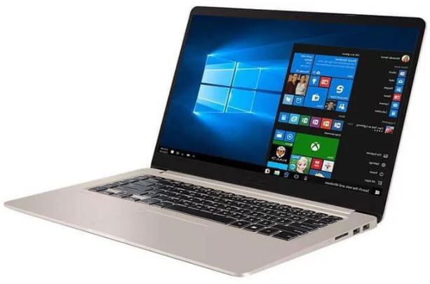 ASUS Vivobook K510UF Slim UltraBook 15.6 FHD Intel i5-8250U 8GB DDR4 512GB M.2 SSD MX130 2GB Windows 10 Pro 1.7kg 17.9mm Illuminated Chiclet Keyboard