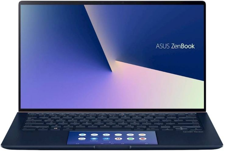 Asus ZenBook 14 UX434FLC 14'FHD Touch i7-10510U 16GB 1TB SSD WIN10 PRO MX250 2GB Backlit HDMI ScreenPad 2.0 WIFI BT 3CELL 1.26Kg 1YR WTY W10P Notebook