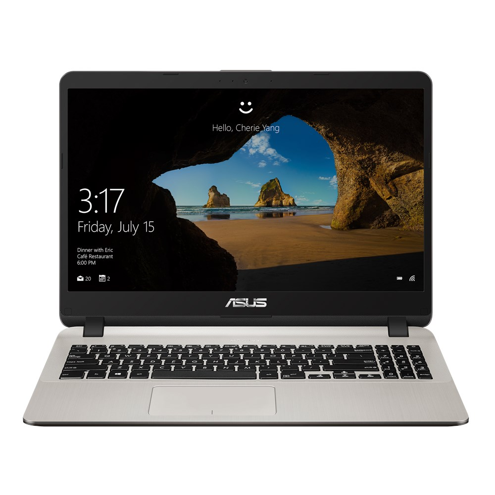 ASUS X507UB 15.6' FHD NanoEdge Laptop Intel i5-8250U 8GB 256GB SSD Win 10 Home 1xUSB3.1 2xUSB 2.0 1xAudio Jack 1xmicroSD Card Reader Chiclet KB 1.68kg