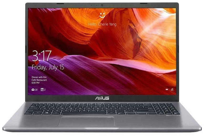 Asus X509JA 15.6' HD i5-1035G1 8GB 512GB SSD WIN10 HOME HDMI Intel UHD Graphics WIFI BT 1.8kg 1YR WTY SLATE GREY W10H Notebook (X509JA-BR104T)