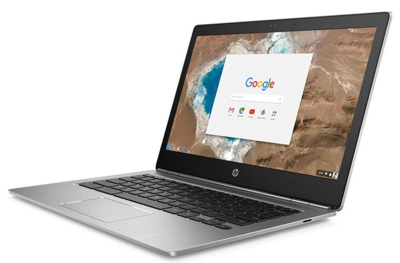 HP ChromeBook 13 G1 13.3' FHD Intel Core M5-6Y57 4GB DDR3 32GB SSD HD Graphics 515 ChromeOS 1.29kg 12.9mm 12hrs 1yr wty 2xUSB-C USB3.1 vPro TPM1.2
