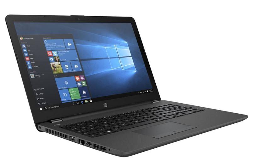 HP 250 G6 2FG09PA Notebook 15.6' HD Intel i3-6006U 4GB DDR4 500GB HDD HDMI VGA Windows 10 Home DVD-RW Webcam WL BT RJ45 1.86kg