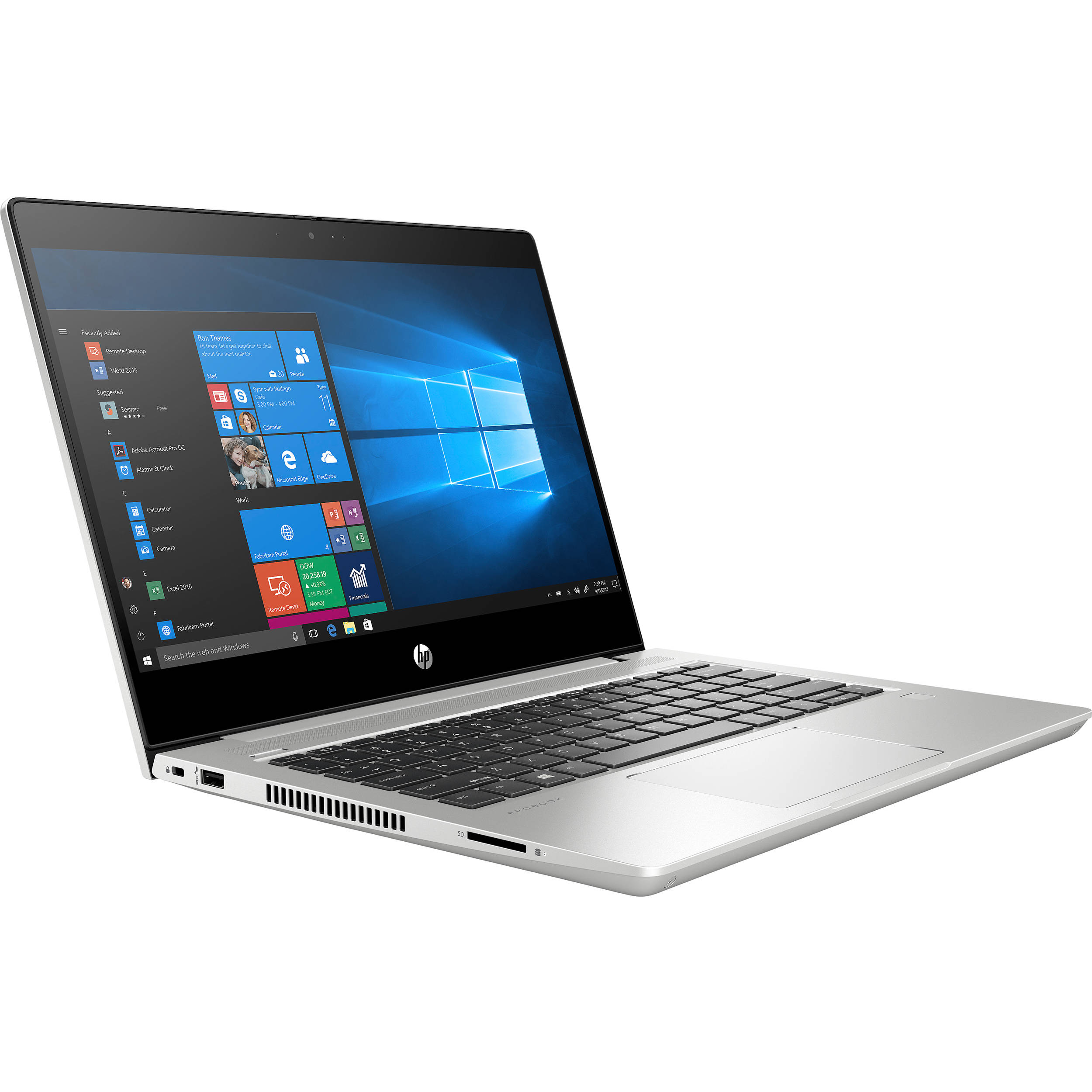 HP ProBook 430 G7 13.3' FHD IPS i5-10210U 8GB 256GB SSD WIN10 PRO 4G LTE UHDGraphics USB-C HDMI Backlit 3CELL 1.49kg  W10P Notebook (9UQ39PA)