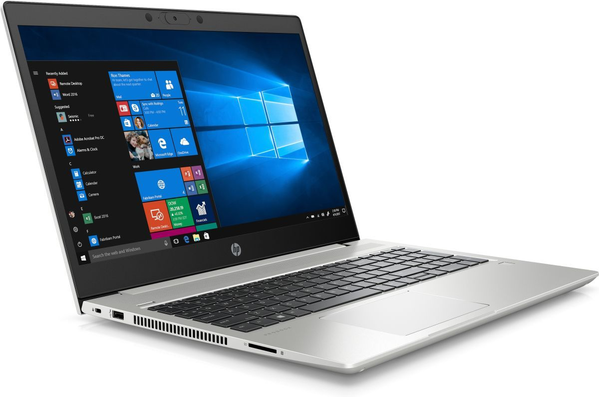 HP ProBook 450 G7 15.6' FHD IPS i7-10510U 16GB 512GB SSD WIN10 PRO MX130 2GB IR Camera Backlit 3CELL 1YR ONSITE WTY W10P Notebook (9UR33PA)