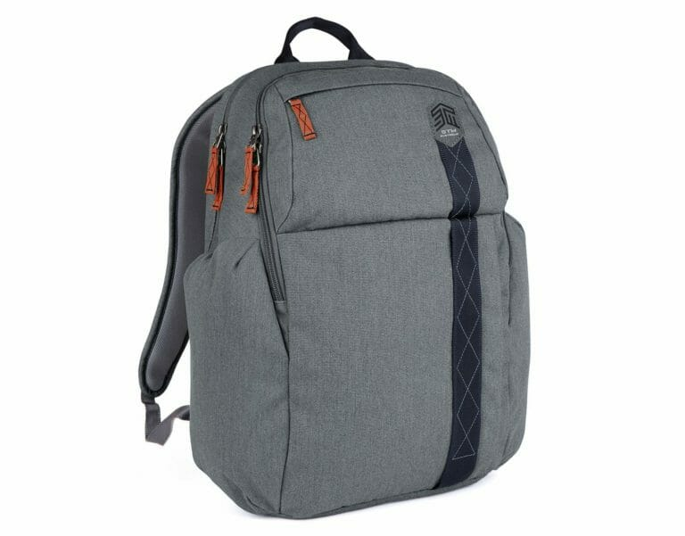 STM Kings BackPack 15' Notebook - Tornado Grey - Adjustable harness and flexible sternum strap enables you to create the optimum fit