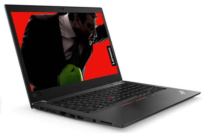 Lenovo ThinkPad T480 Notebook 14' FHD Intel i5-8250U 8GB RAM 256GB SSD Win10 Pro USB-C Backlit KB 1.65kg 23.3mm 3 Yr Depot Wty