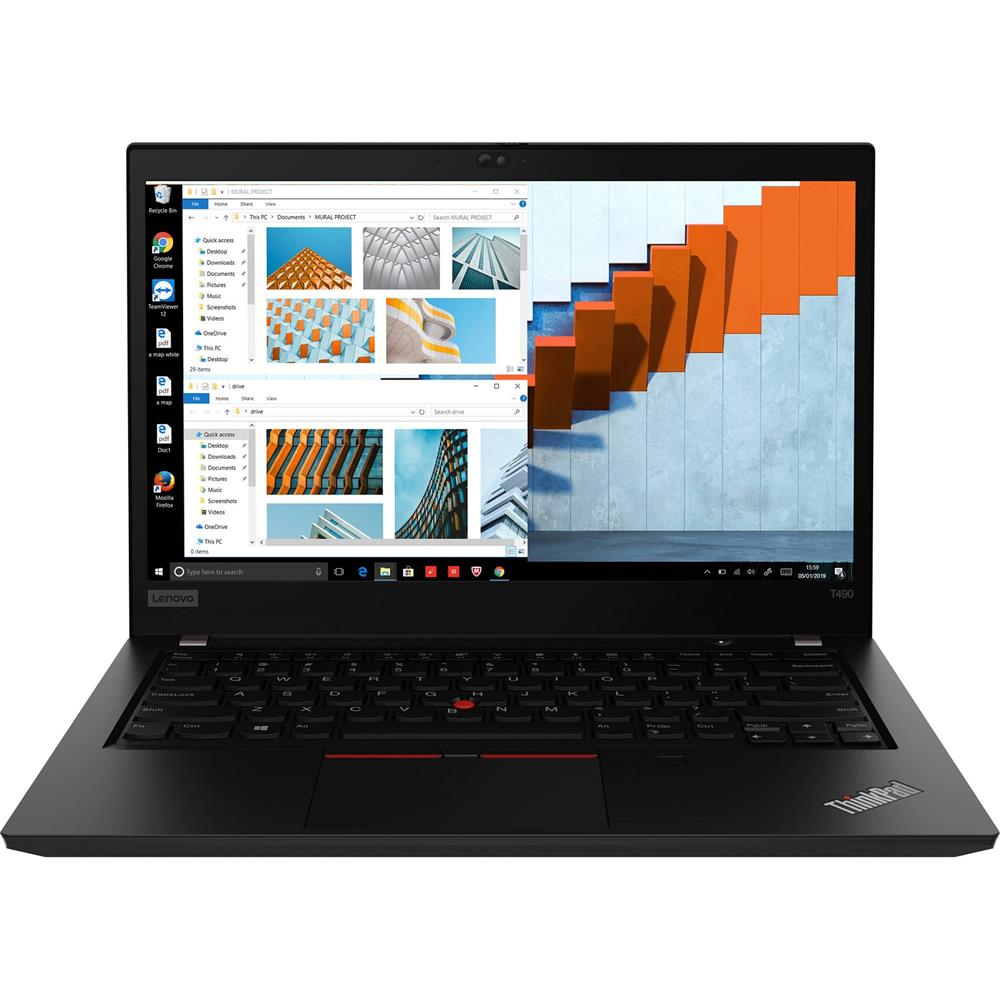 LENOVO ThinkPad T490 14'' FHD IPS i5-8265U 16GB 256GB SSD WIN10 PRO UHD620 HDMI Fingerprint Backlit 14hrs 3CELL 1.55kg 3YR ONSITE W10P Notebook(LS)