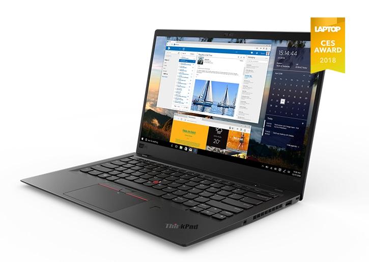 Lenovo ThinkPad X1 Carbon G6 Ultrabook 14' WQHD 2560×1440 Intel i7-8550U 16GB DDR4 1TB SSD NVMe Win 10 Pro 1.13kg 15.95mm 15hrs 3Yr Wty Backlit KB