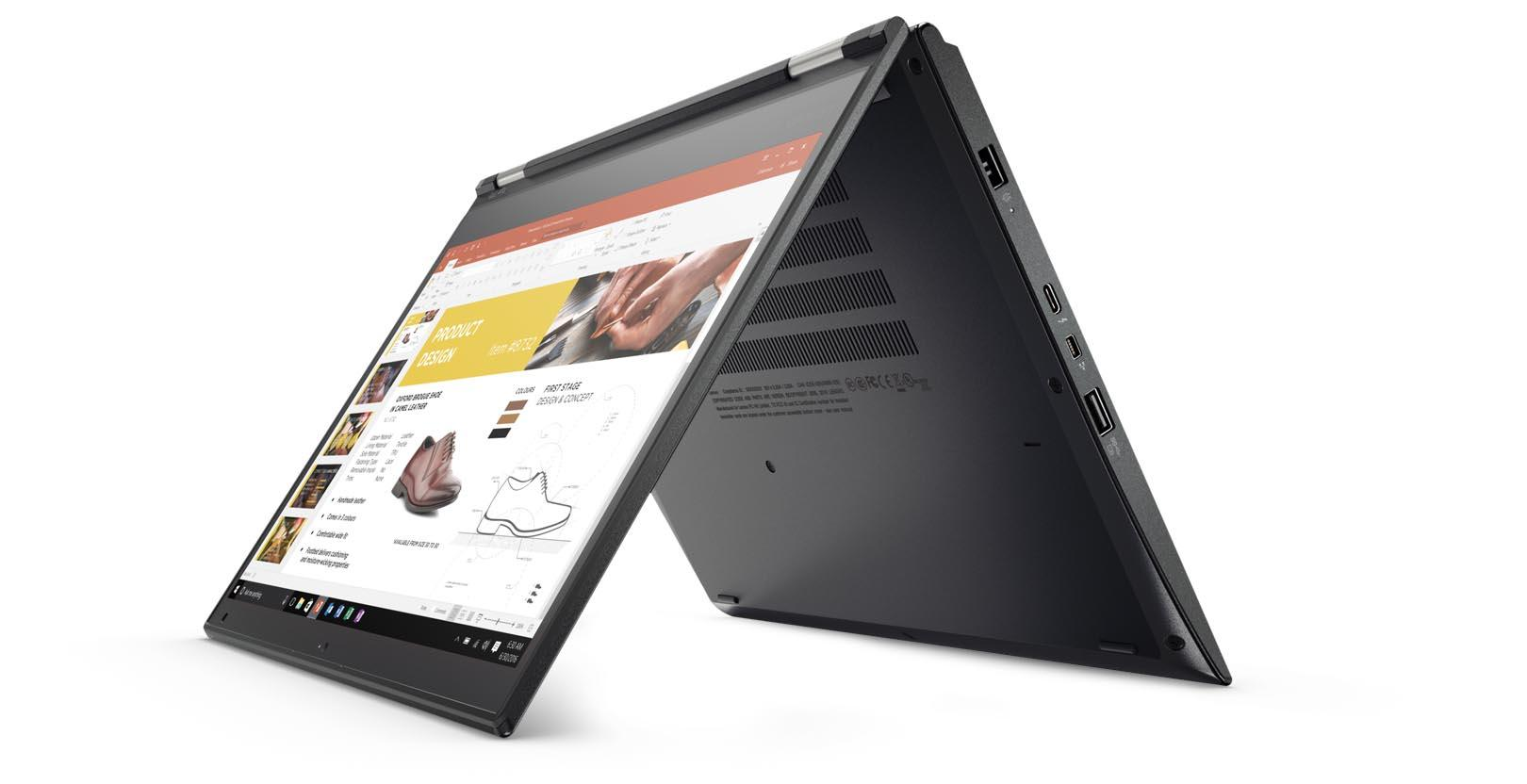 Lenovo ThinkPad Yoga 370 2-in-1 Laptop 13.3' FHD Touch Flip Intel i5-7200U 8GB RAM 256GB SSD Win10 Home 1.37kg 18.2mm 3 Yr Depot Wty