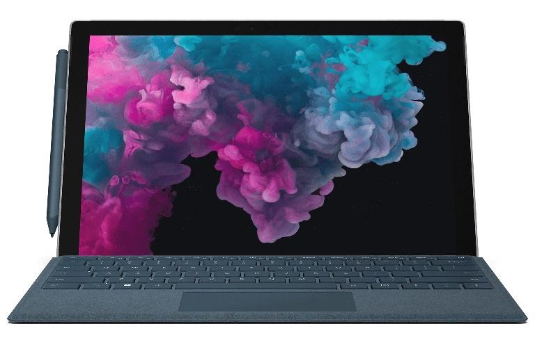 Microsoft Surface Pro 6 - Black, Intel i7-8650U, 16GB RAM, 1TB SSD, 12.3' QHD  WIFI, BT, Windows 10 Home, 1 Year Warranty- Commercial