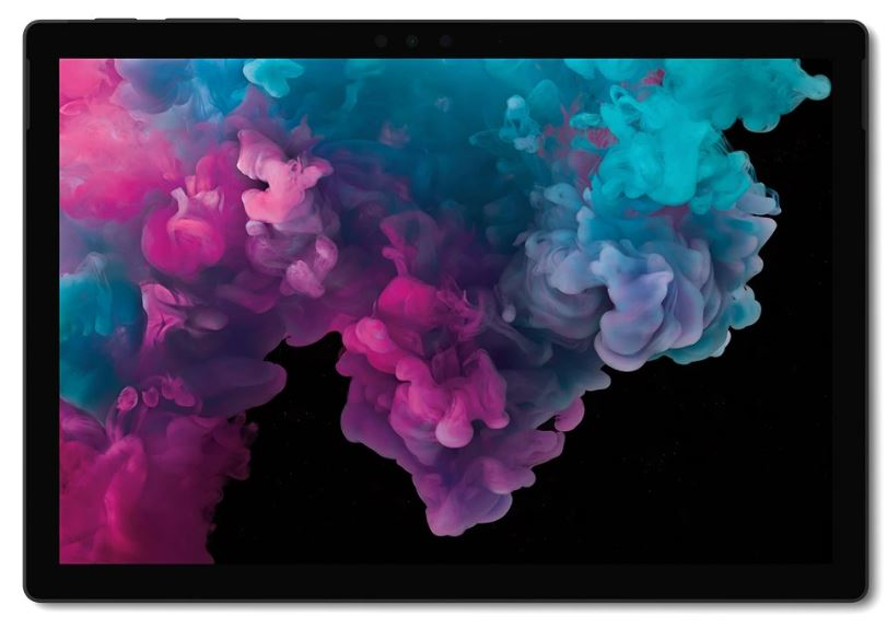Microsoft Surface Pro 6 - Black, Intel i5-8250U, 8GB RAM, 256GB SSD, 12.3' QHD, WIFI, BT, Windows 10 Home, 1 Year Warranty- Retail