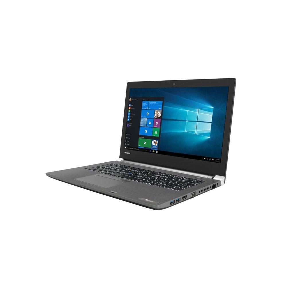Toshiba A40 Ultrabook, Intel I5-7200, 8GB DDR4, 256GB SSD, 14' HD, DVD-RW, WL-AC, Windows 10 Professional, 3 Year Warranty