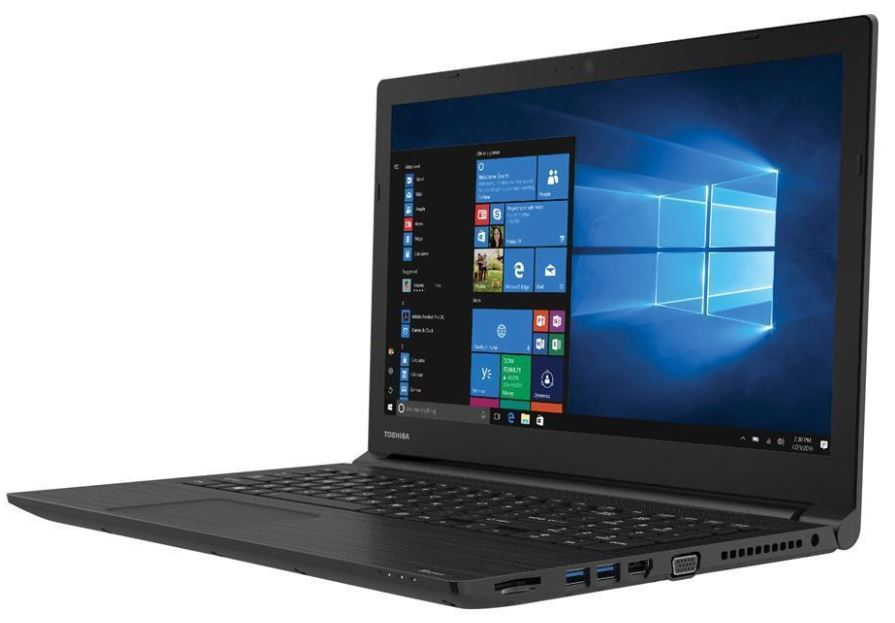 Toshiba Tecra C50 Notebook 15.6' HD Intel i5-8250U 8GB DDR4 256GB SSD DVDRW HD Graphics 620 Windows 10 Pro 1 Yr Wty 2.2kg 23.9mm