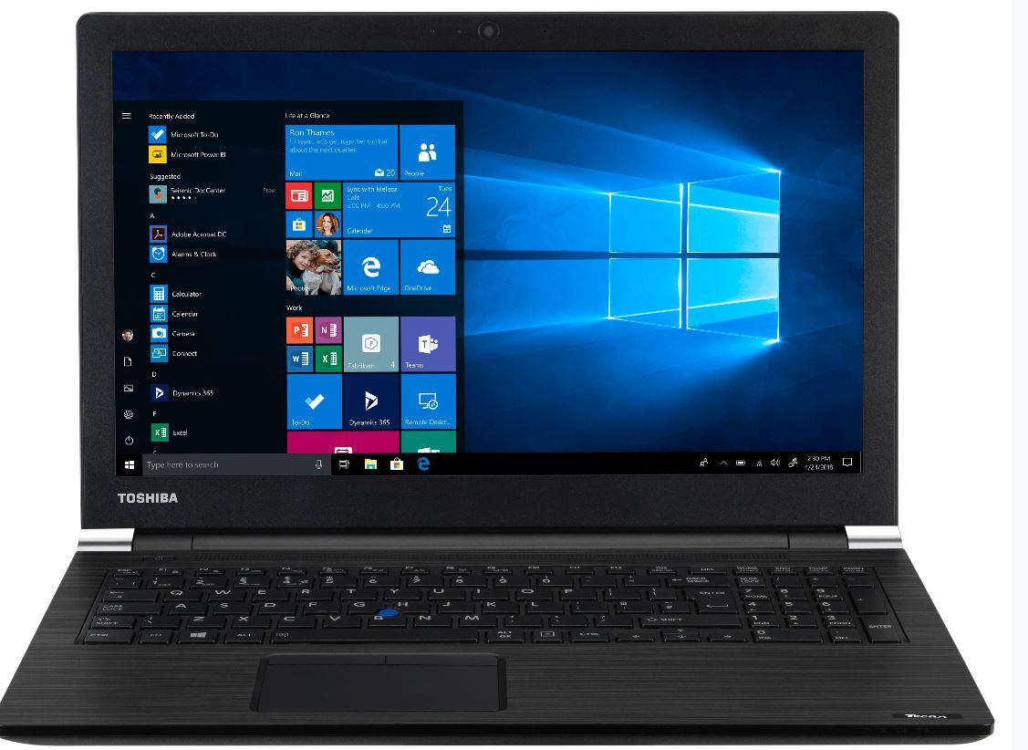 Toshiba Dynabook Tecra A50-EC 15.6' HD i5-8250U  8GB 256GB SSD  WIN10 PRO DVDRW HDMI Graphics 620 WIFI BT 4CELL 3YR WTY Notebook (PT5A1A-0YK001)(LS)