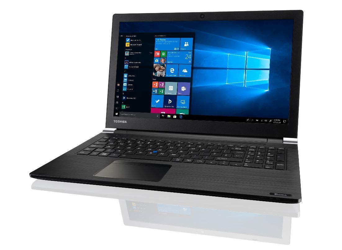 Toshiba Dynabook Tecra A50-EC 15.6' HD Widescreen i5-8250U  8GB 256GB SSD W10P64 DVDRW HDMI Graphics 620 WL BT 3YR WTY 2.2kg Notebook (PT5A1A-0YK001)
