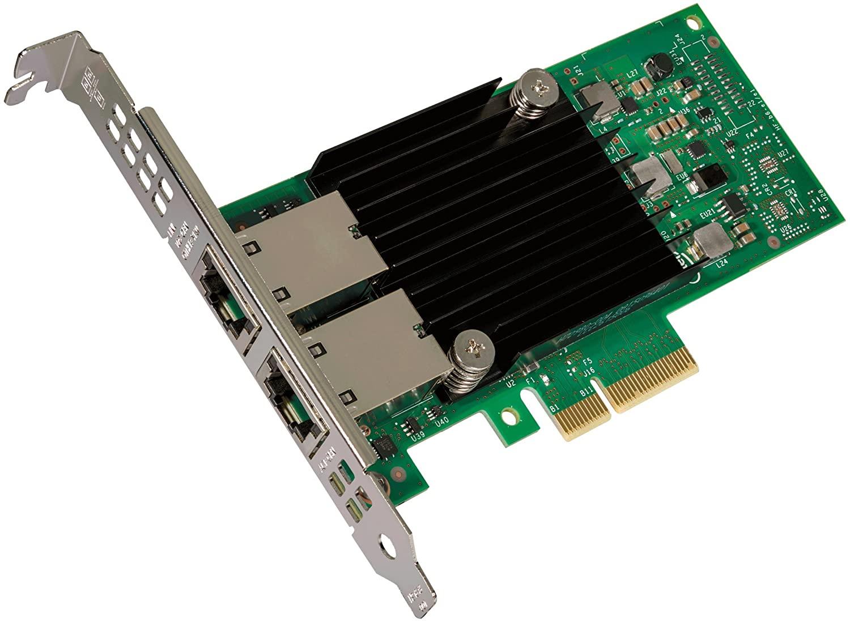 Intel Dual Port 10GbE Ethernet Adapter X550T2, RJ45, LP/FUL L BRACKET